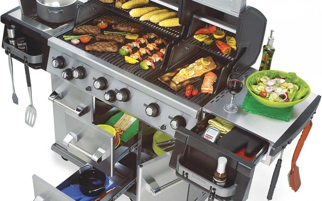imperial xl nero broil king barbecue