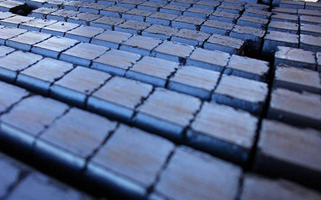 mattonelle di carbone