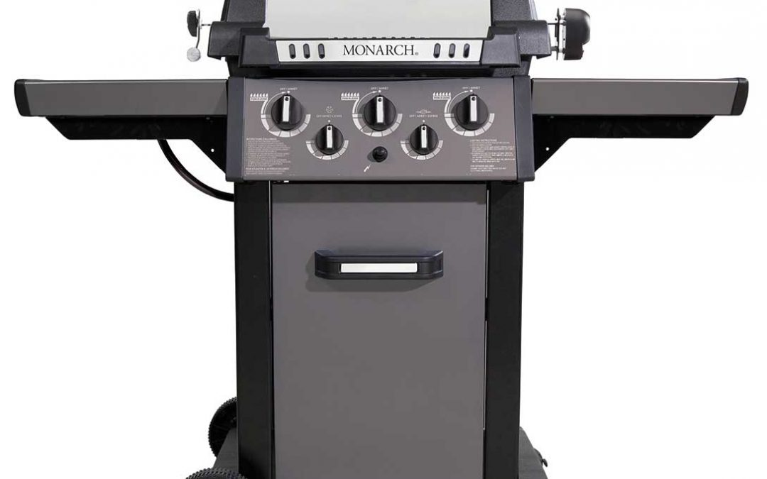 monarch 390 broil king barbecue