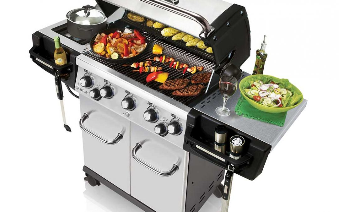 regal s 590 pro broil king barbecue