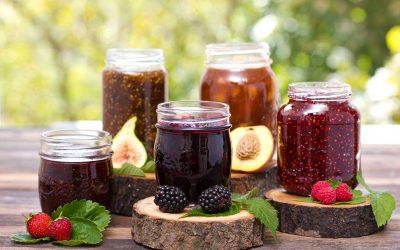 Vasetti miele marmellate conserve e sughi